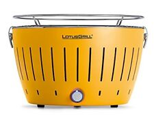 Lotusgrill G-ge-34 - barbacoa de Carbón sin humo color amarillo