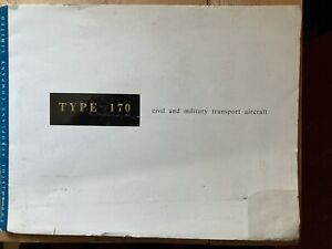 Bristol 170 sales brochure and performance data brochure 61 pages