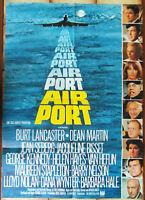 Filmplakat Airport - Dean Martin jacqueline Bisset Burt Lancaster - 1969