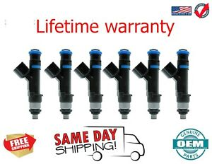 X6 OEM Bosch  fuel injectors Dodge Nitro 2007 - 2011 3.7L 0280158020