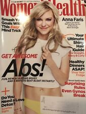 WOMEN'S HEALTH Magazine May 2018 Anna Faris Awesome Abs