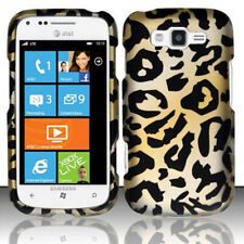 For Samsung Focus 2 i667 Rubberized HARD Protector Case Snap Phone Cover Cheetah