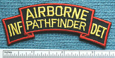 AIRBORNE PATHFINDER / INF. DET., 25TH INFANTRY DIVISION, COLOR SCROLL