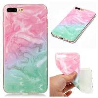 Mármol Patrón de cuero carcasa Para iPhone 8/7/6/5 Samsung S9 HuaWei P9 lite LG