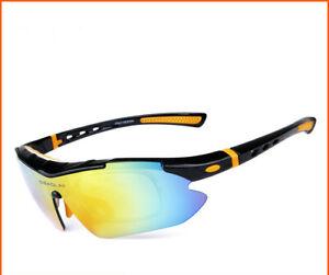 Outdoor cycling polarized sunglasses Sports Sunglasses UV 400 bike goggles