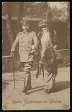 642631) AK unser Kaiserpaar im Westen