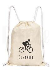 Personalizzato Ciclismo Mountain Bike con coulisse Zaino in tela borsa palestra/PE