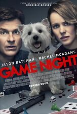Game Night Movie Poster (24x36) - Jason Bateman, Rachel McAdams v2
