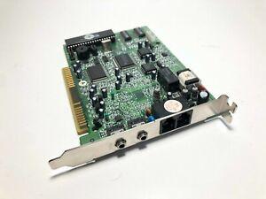 Davicom V1456VQH-X A3062672 56K PnP ISA Voice Data Fax Modem Card TESTED
