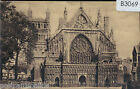 B3069cgt UK Exeter Cathedral West Front Worths vintage postcard