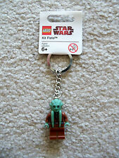 LEGO Star Wars Key Chain - Rare Jedi Kit Fisto Keychain - New