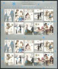 Nederland V2296-2305 decemberzegels 2004  postfris/mnh
