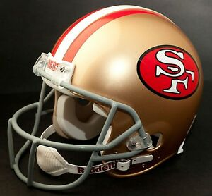 JERRY RICE Edition SAN FRANCISCO 49ers Riddell REPLICA Football Helmet NFL