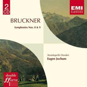 Bruckner Symphonies 8 & 9 - Eugen Jochum/Dresden 2x CD