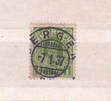 1911/8 Sc 70 Bergen cds #2322