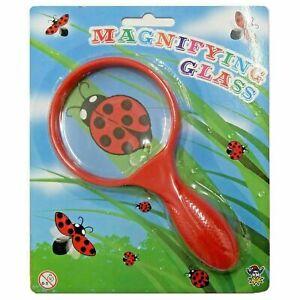Magnifying Glass 15cm Children Kid Bug Viewer Science Toy Garden Nature Activity