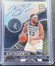 2019-20 Panini Spectra Karl-Anthony Towns Catalysts Auto Prizm #/25