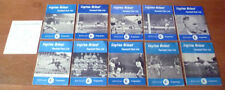 Second Division Home Teams Written - on Football Programmes