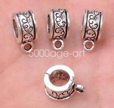 20PCS Tibetan Silver Charm Pendant Bail Connectors 13MM pendants bails A3072