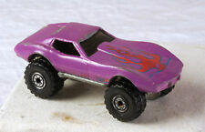 Rare Vintage Hot Wheels 1975 purple enamel monster vette stingray, s - 1