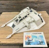 Vintage 1980 Star Wars - Rebel Armored Snowspeeder - Kenner  Empire Strikes Back
