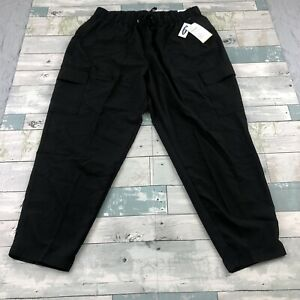 NWT Old Navy Active Women's Light Weight Jogger High Rise Black Pockets
