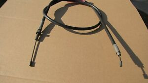 Hill Country Customs Black Vinyl Coated 6 Clutch Cable for 1996-2006 Harley-Davidson Touring models HC-52-1410