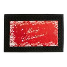Zerbino natalizio Merry Christmas con luci a led e musica 45x75 cm V295