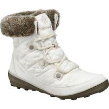 Columbia Heavenly Shorty Omni-Heat Boot, sea salt/fawn women's size 9