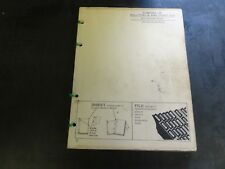 John Deere 25 Pull Type 6 and 7 Foot Cut Combine Parts Catalog Pc-267