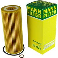 Original MANN-FILTER Ölfilter Oelfilter HU 722 x Oil Filter