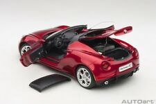 Autoart ALFA ROMEO 4C SPIDER COMPETITION RED 1/18 Scale New Release! In Stock!