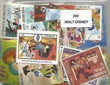 "Lot  timbres thematique "" Disney"""