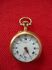 montre de col ancienne Inédia 1920 OR 18 k poinçon tête d'aigle 10 rubis watch