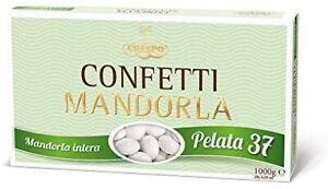 CONFETTI CRISPO   Mandorla Classica   PELATA 37   Bianco   1 Kg