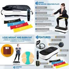 LifePro Vibration Plate Exercise Machine - Whole Body Workout White
