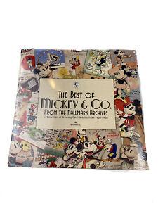 Vintage 1998 Disney The Best Of Mickey Mouse Hallmark Calendar New Sealed