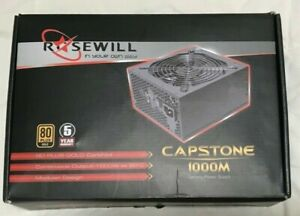 Rosewill CAPSTONE 1000M-2 1000W Modular Power Supply (80 PLUS GOLD Certified)