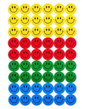 Caras sonrientes Escuela recompensar el mérito calcomanías álbum de recortes de decoración hágalo usted mismo Para Niños