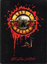 GUNS N ROSES 2016 NOT IN THIS LIFETIME TOUR PROGRAM BOOK / AXL ROSE / NMT 2 MNT
