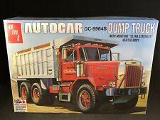 Amt Autocar Dc-9964B Dump Truck 1:25 Scale Plastic Model Kit 1150 New in Box