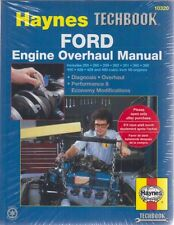 FORD 255 260 289 302 351 360 390 400 428 429 460 V8 ENGINE 62-90 OVERHAUL MANUAL