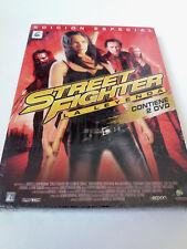 """DVD """"STREET FIGHTER LA LEYENDA"""" 2DVD EDICION ESPECIAL PRECINTADO SEALED KRISTIN"""