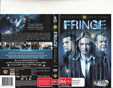 Fringe-2008/13-TV Series USA-[The Complete Fourth Season-6 Disc Set]-6 DVD