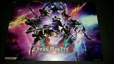 """Pax West 2018 Signed Devil May Cry 5 poster 14x20"""""""