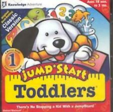 JumpStart Toddlers PC MAC CD learn alphabet ABCs color letters animals numbers!