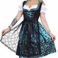 0200. Dirndl Oktoberfest German Austrian Dress Sizes: 4.6.8.10.12.14.16.18.20.22
