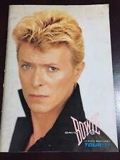 """David Bowie"" Serious Moonlight Tour 1983 Official Program Japanese Ver"
