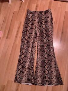 Zara Flare Pants Size S