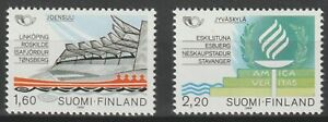 Finland 1986 #738-39 Nordic Cooperation Issue - MNH